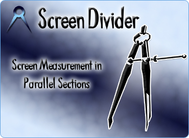 Screen Divider - Distance, angles and parallel lines at your fingertips